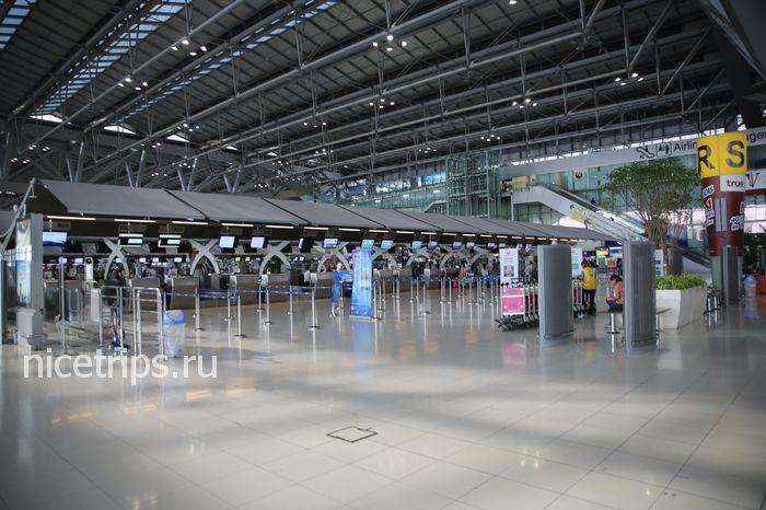 Схема аэропорта суварнабхуми на русском