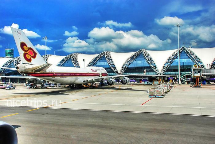 Аэропорт Бангкока Суварнабхуми: план, схема