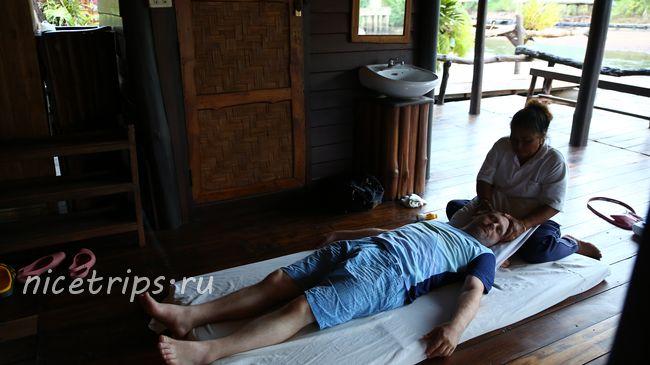массаж на реке Квай