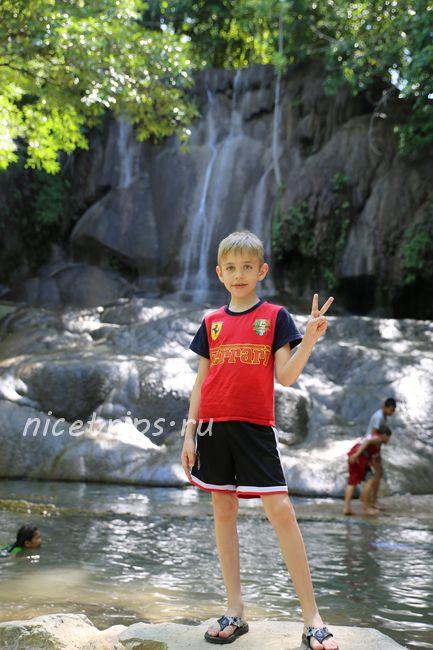 Водопад Сайок Ной