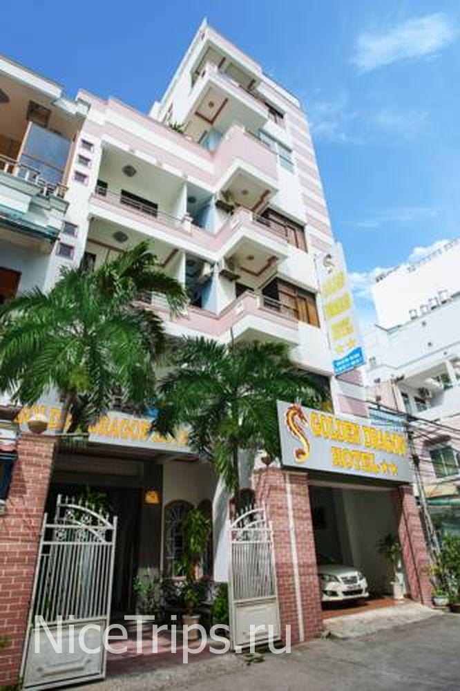 Nha Trang Отель golden Dragon