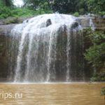 Озеро на территории водопада Пренн