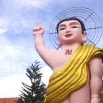 Храм золотого Будды в Далате