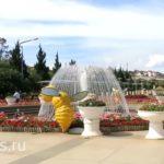 Цветочный парк в Далате