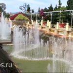 Красивый фонтан в далате