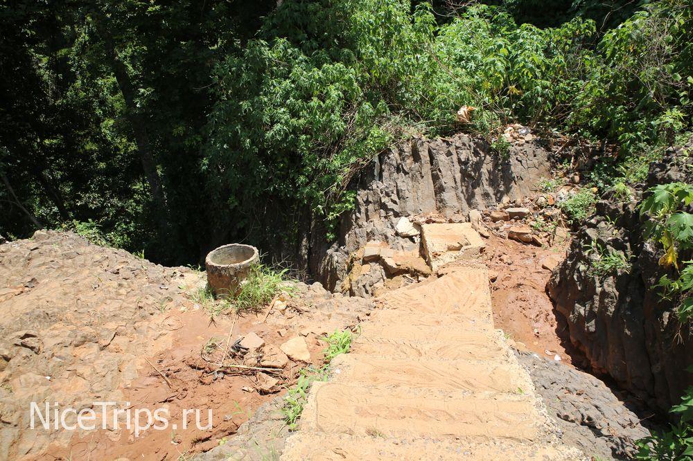 Путь к слоновьему водопаду