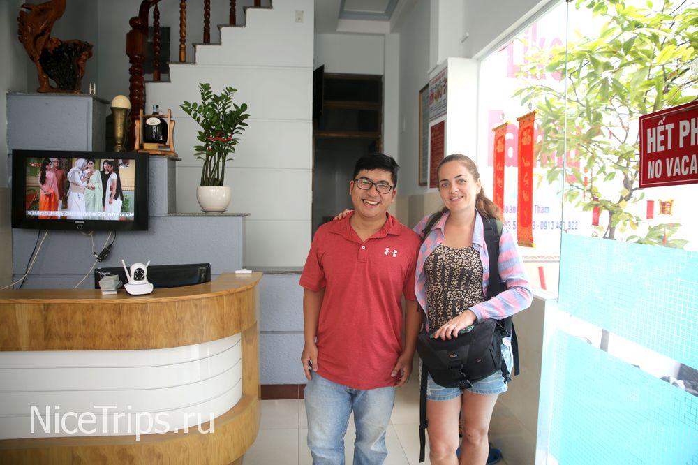 Отель в европейском районе Нячанга «Like Family Hotel»