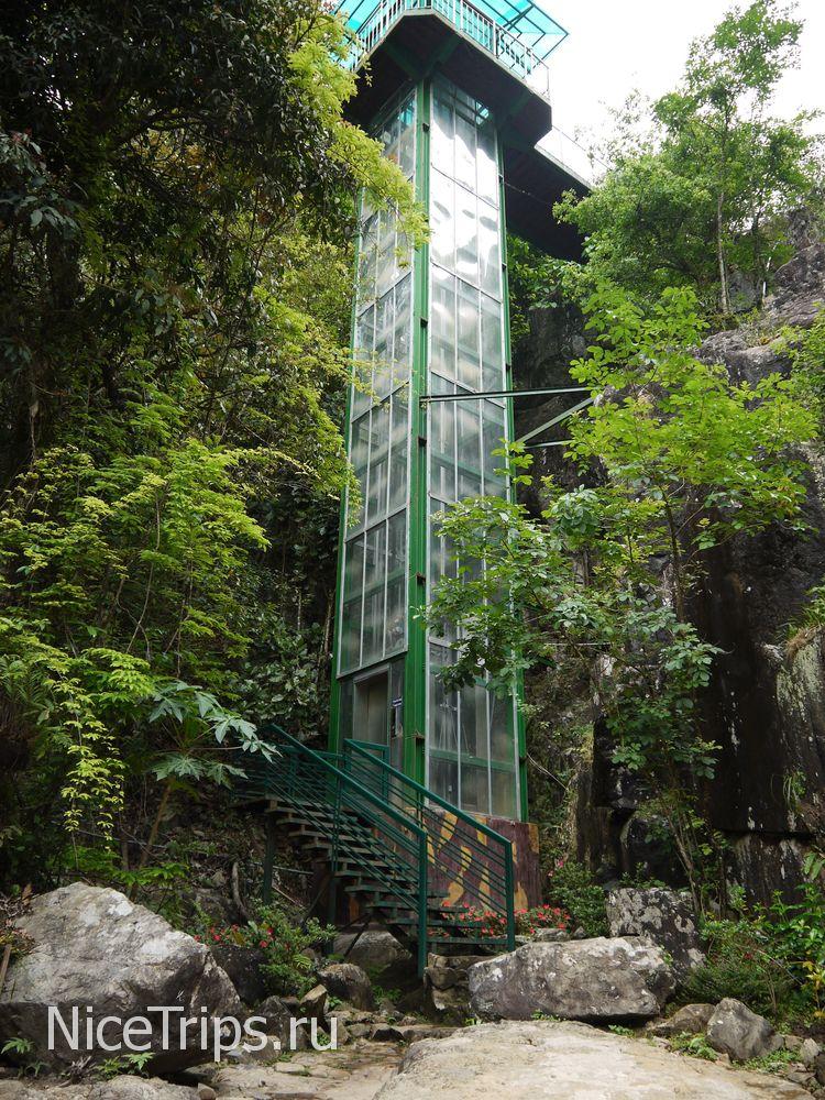 Лифт в горах