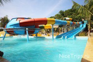 аквапарк на территории i resort