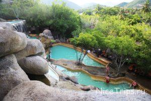 Водопад с бассейнами I Resort Нячанг