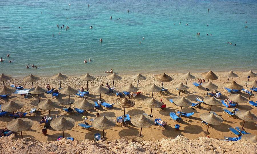 Песчаные пляжи Шарм Эль Шейха + лучшие отели с песчаным входом в море