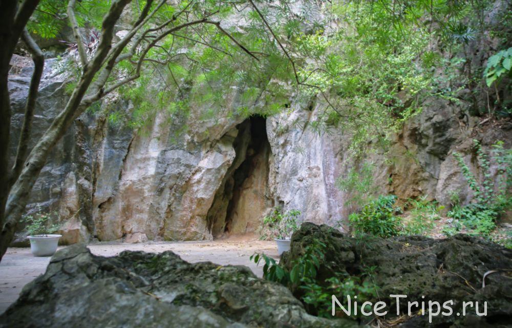 Пещеры на Мраморной горе