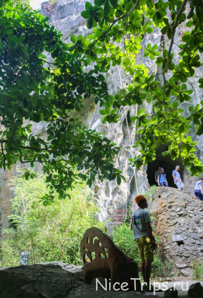 скалолазание на пещере VAN THONG