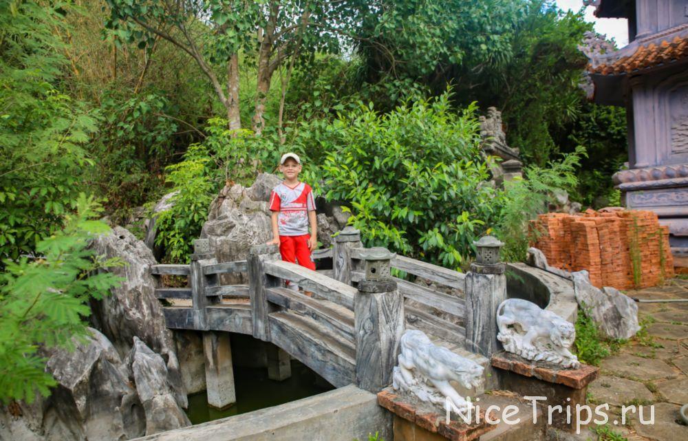 мост на мраморной горе