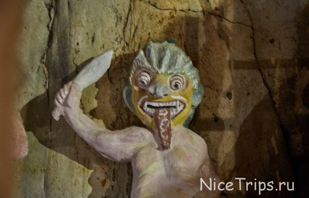 Пещера AM PHU в мраморной горе