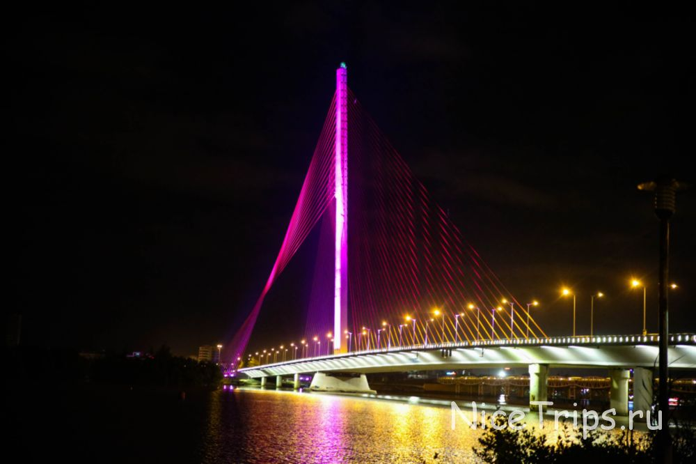 Мост Тран Тхи Лу в дананге