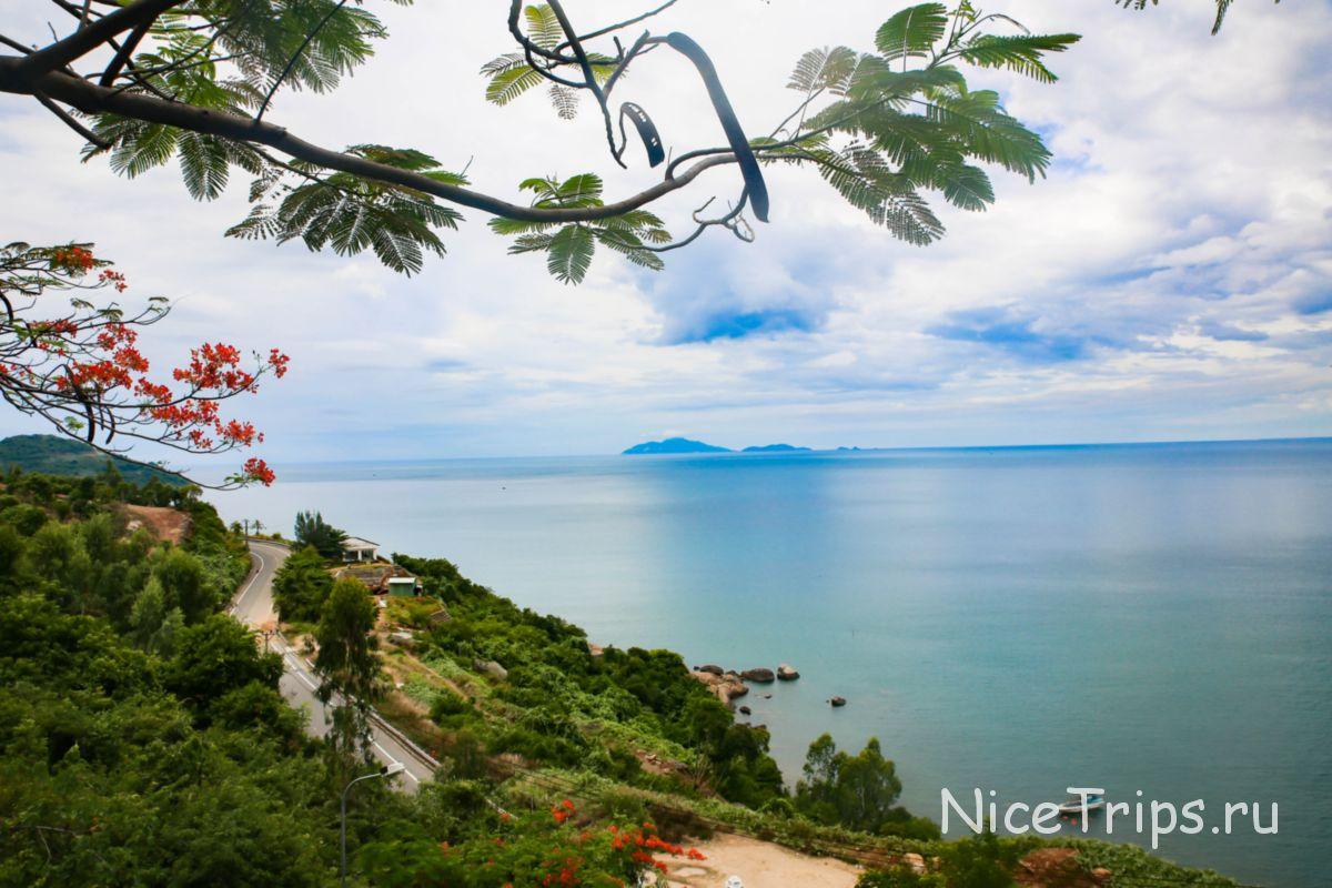 Вид на море Дананга