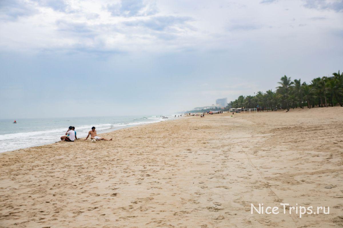 отдых на пляже Ми Кхе Дананг