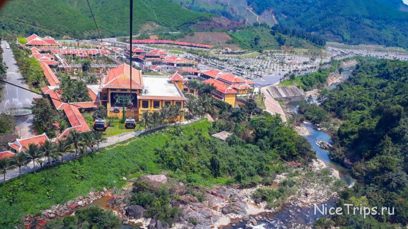 Канатная дорога в Ba Na Hills