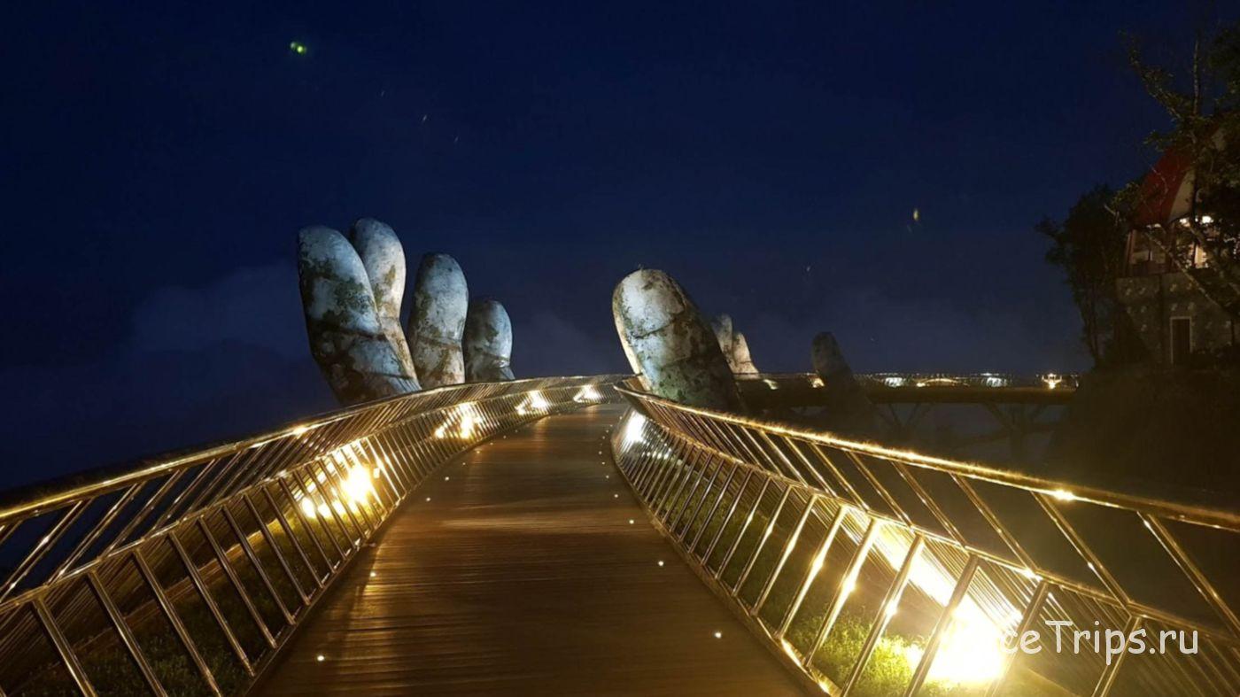 Мост с руками во Вьетнаме
