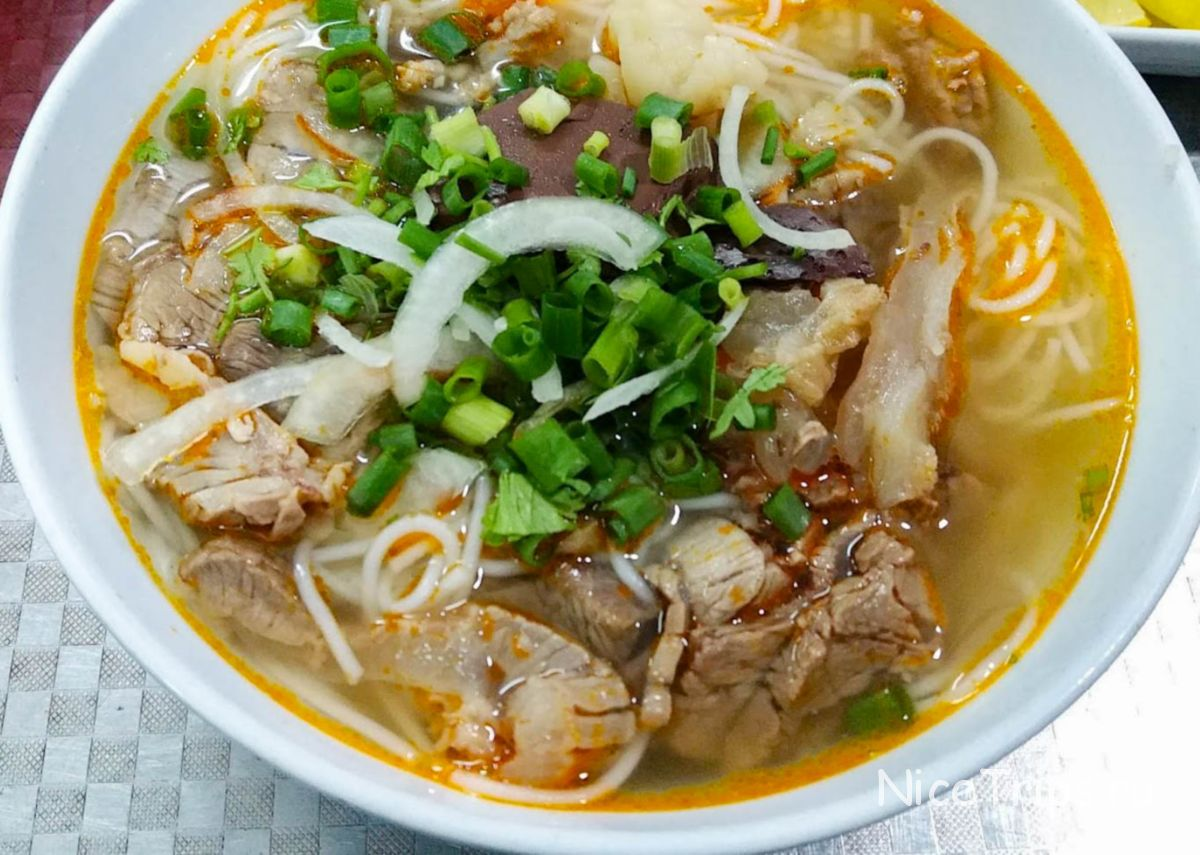 вьетнамский суп bun tran