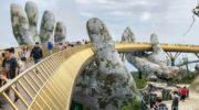 БаНа Хиллс + Золотой мост с руками в Дананге (Ba Na Hills)