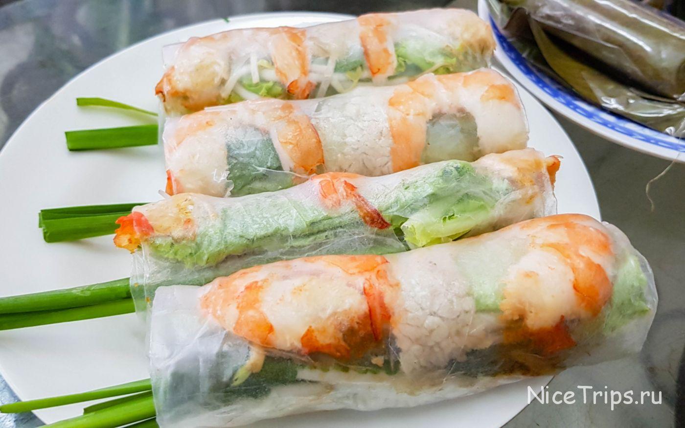 Goi Cuon - Роллы в рисовой бумаге