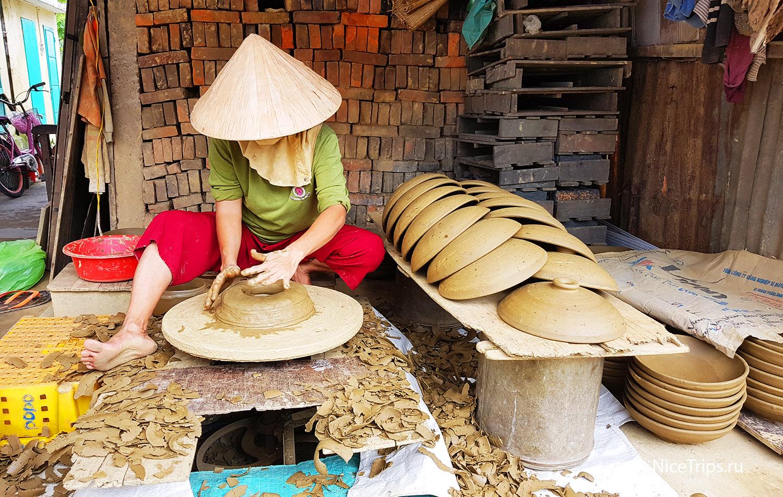 деревня Thanh Ha рядом с Хойаном