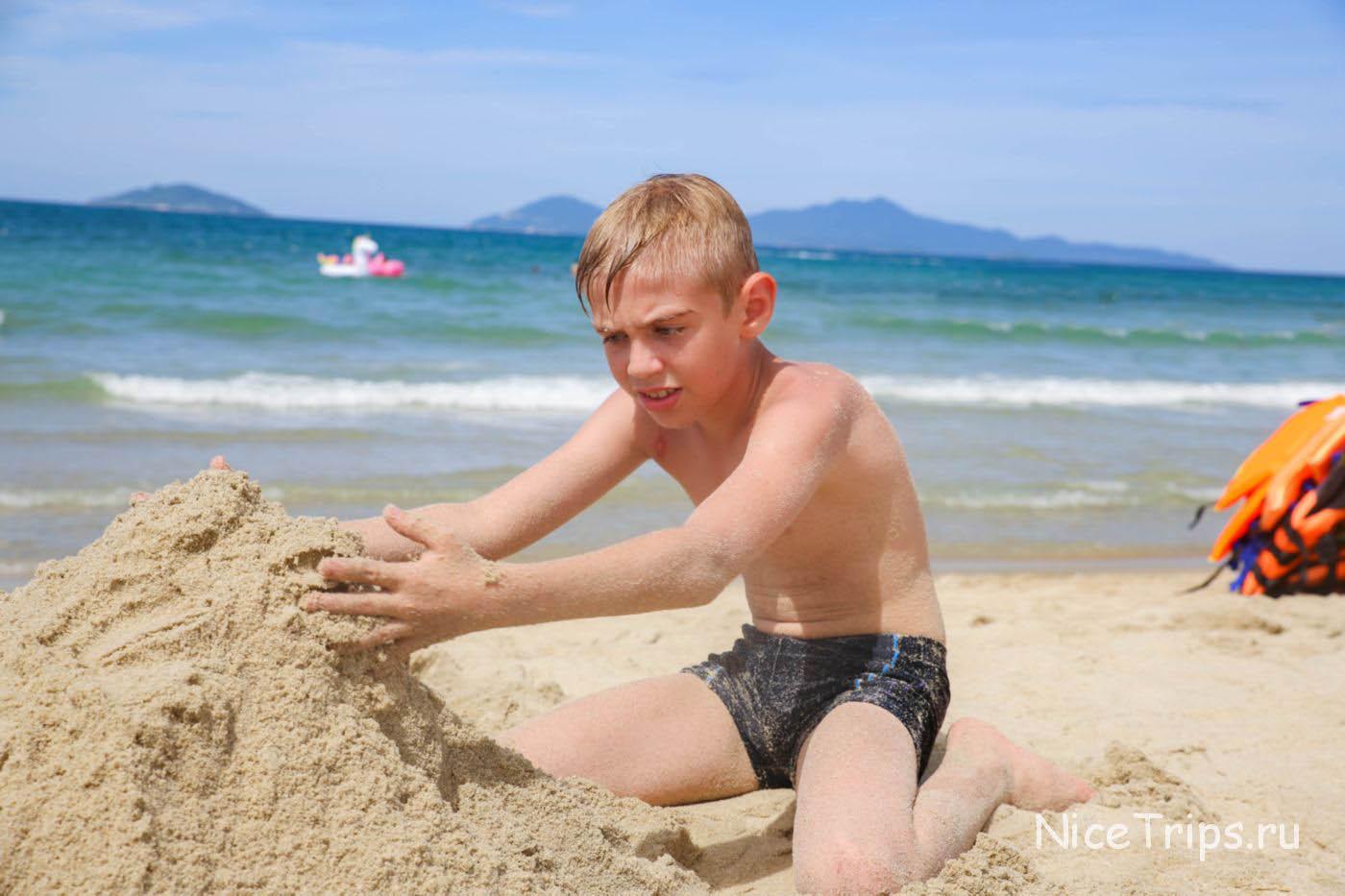 отдых на пляже Хойана