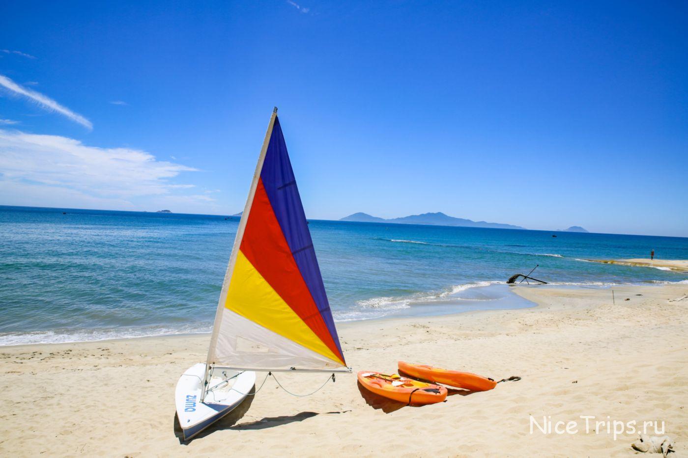 пляж Cua Dai в Хойане