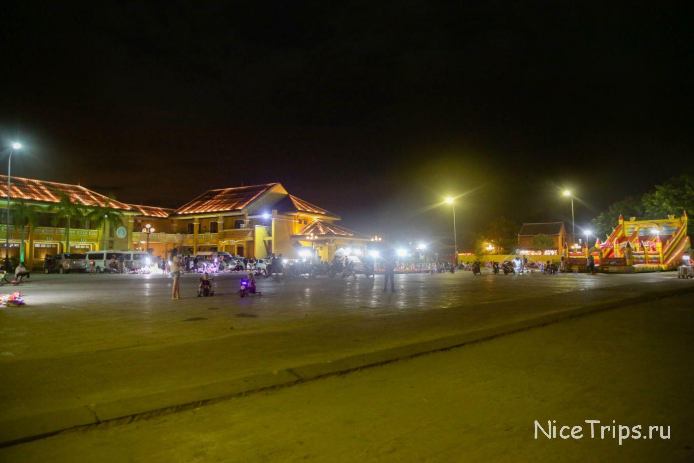 Детская площадка в Хойане