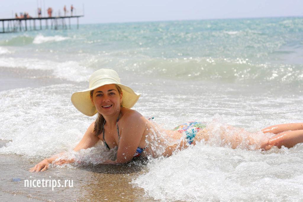 море в Турции в мае