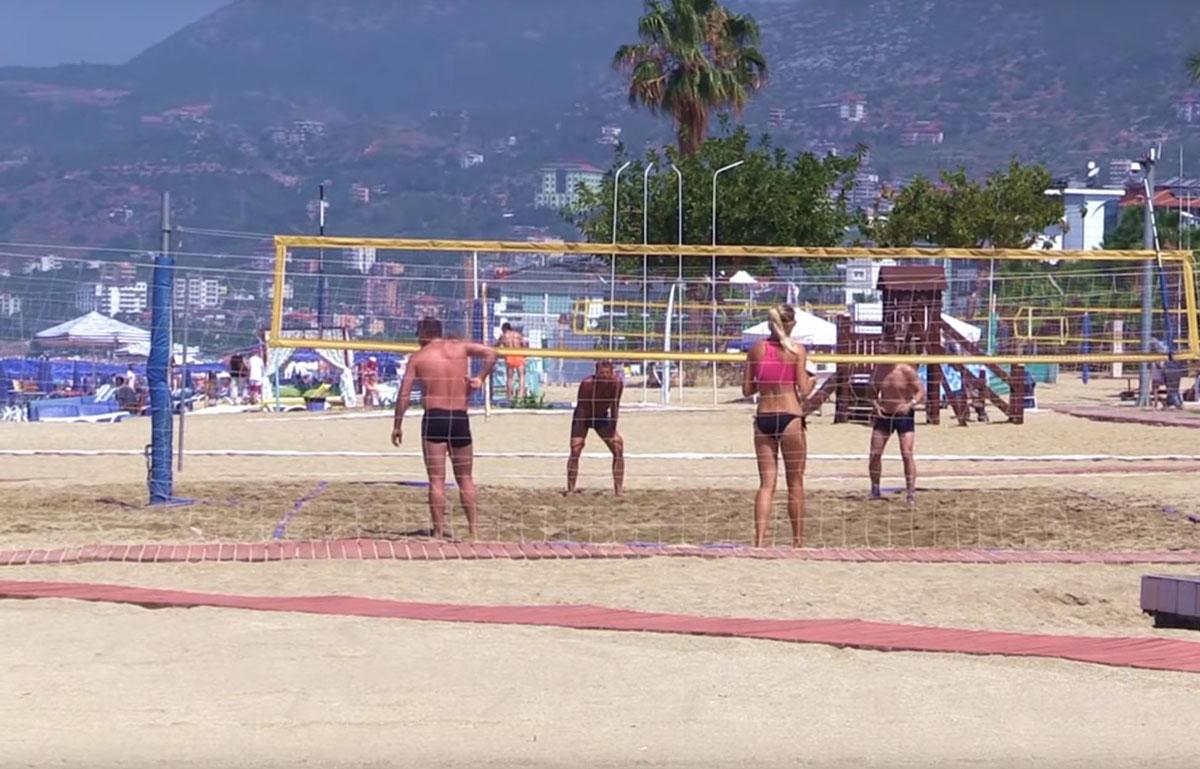 волейбольные площадки