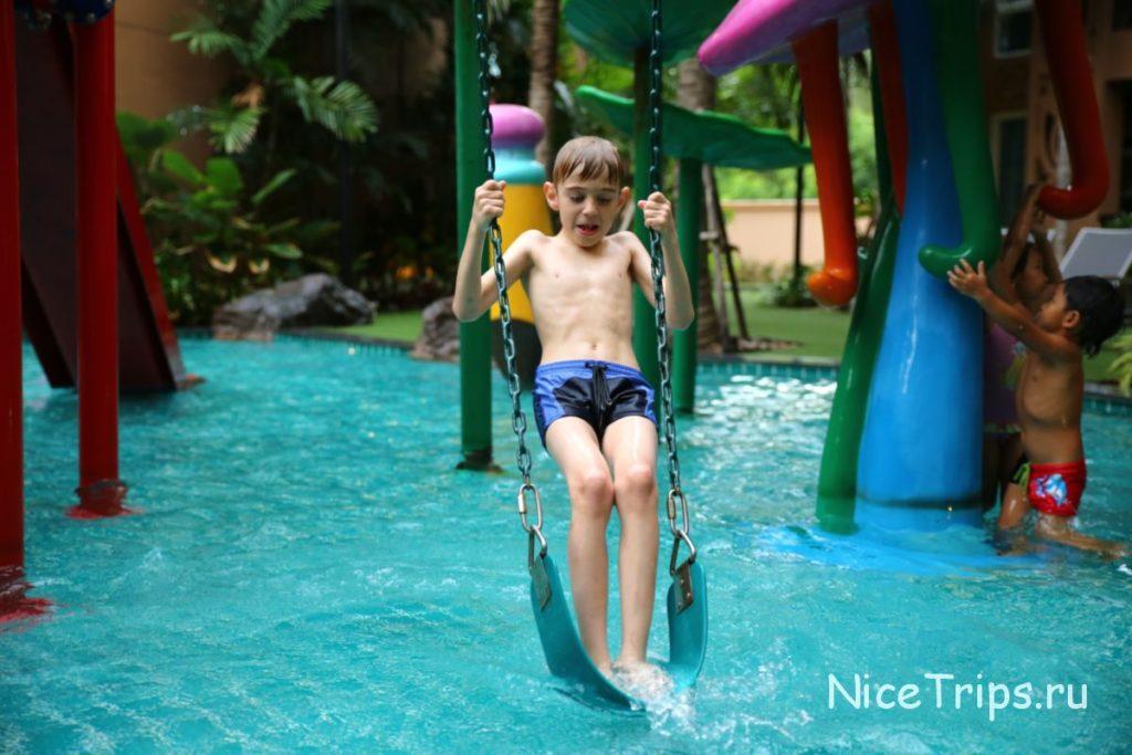 бассейн для детей в Атлантисе