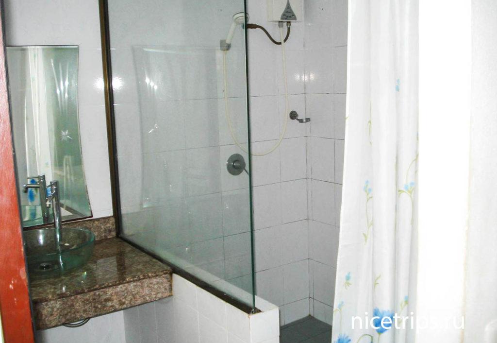 ванная комната в отеле Florist Resort