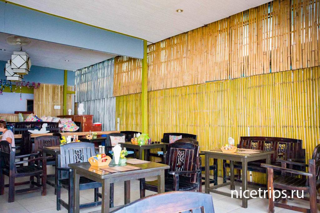 кафе с завтраками в отеле Florist Resort