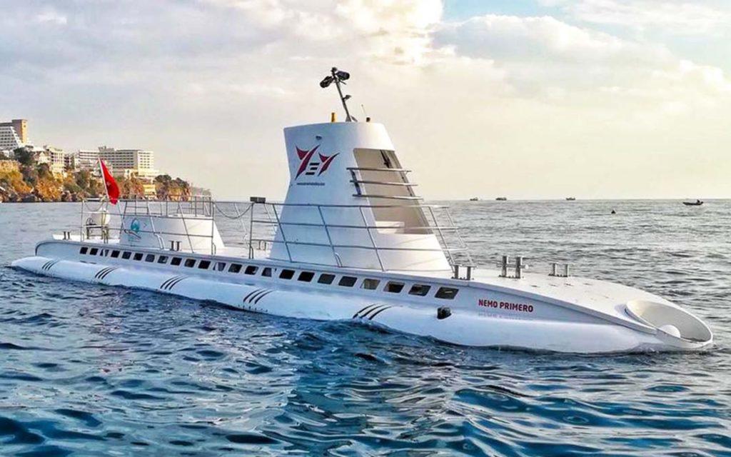 Подводная лодка Nemo в Анталии