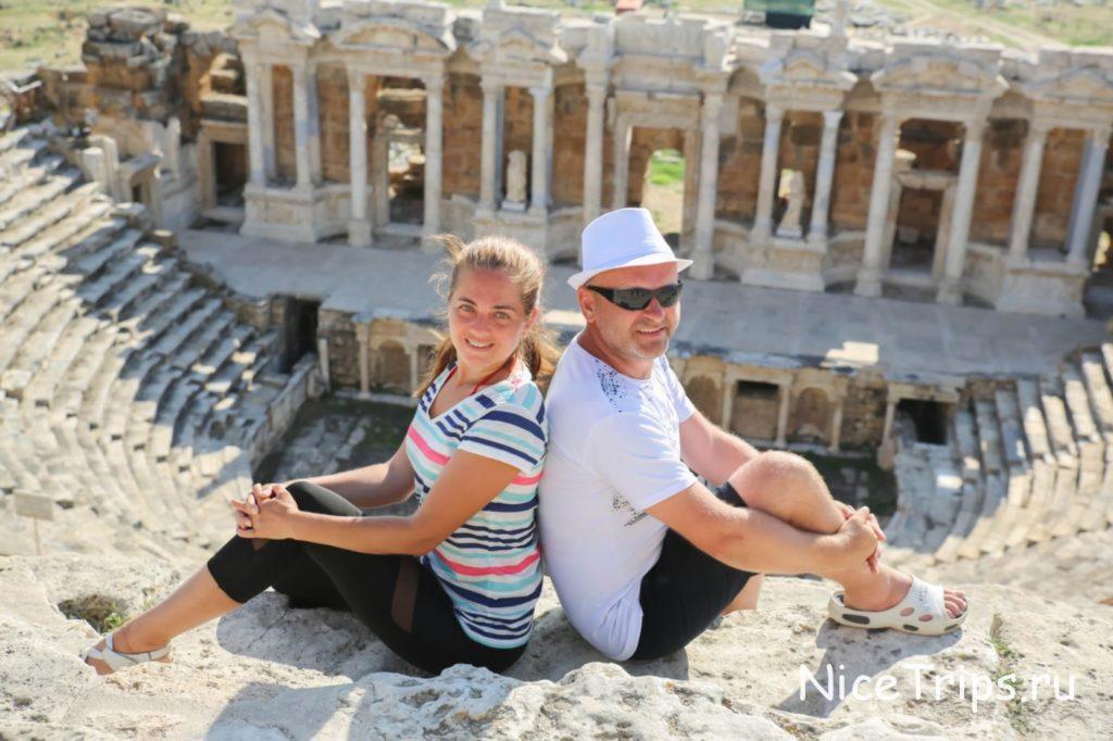 Древний театр в Иераполисе