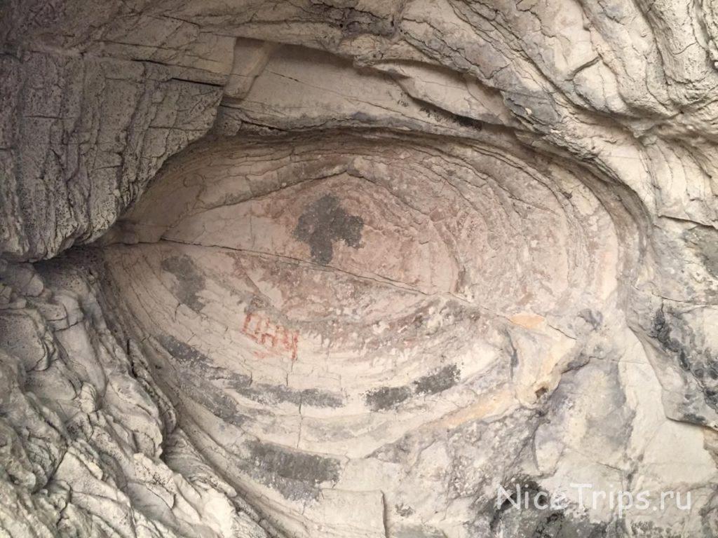 наземная часть пещеры